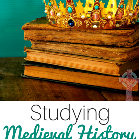 Explore medieval history in your homeschool by using amazing literature. Teaching history doesn't have to be dull!