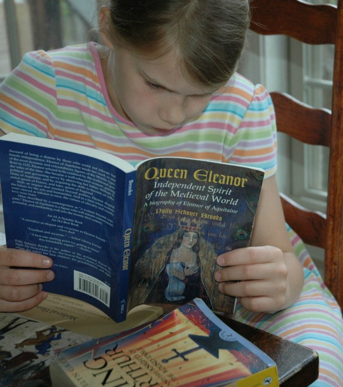 Don't stress about teaching medieval history to your children. My kids devour history through literature,.
