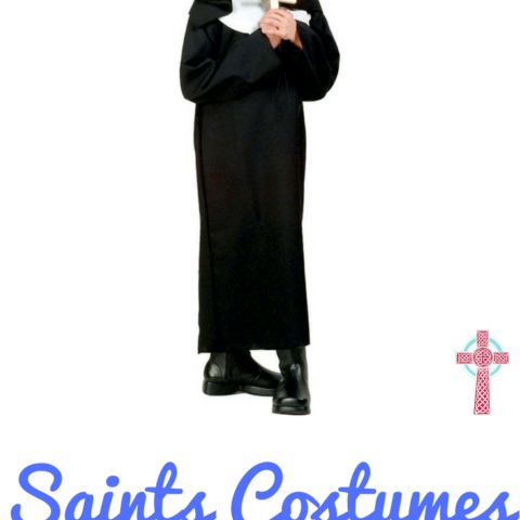 Are you stumped for ideas for Saint Costumes for Girls? Don't miss this list of SUPER SIMPLE ways to dress up for All Saints Day!