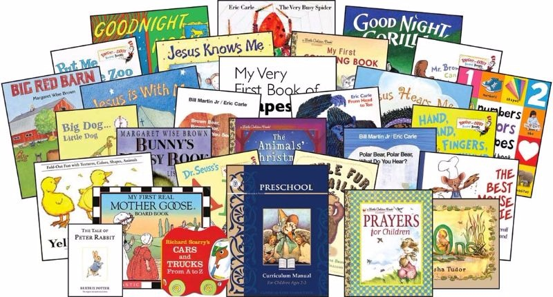 Come and take a look at our choices for our classical Christian curriculum for preschool at home.
