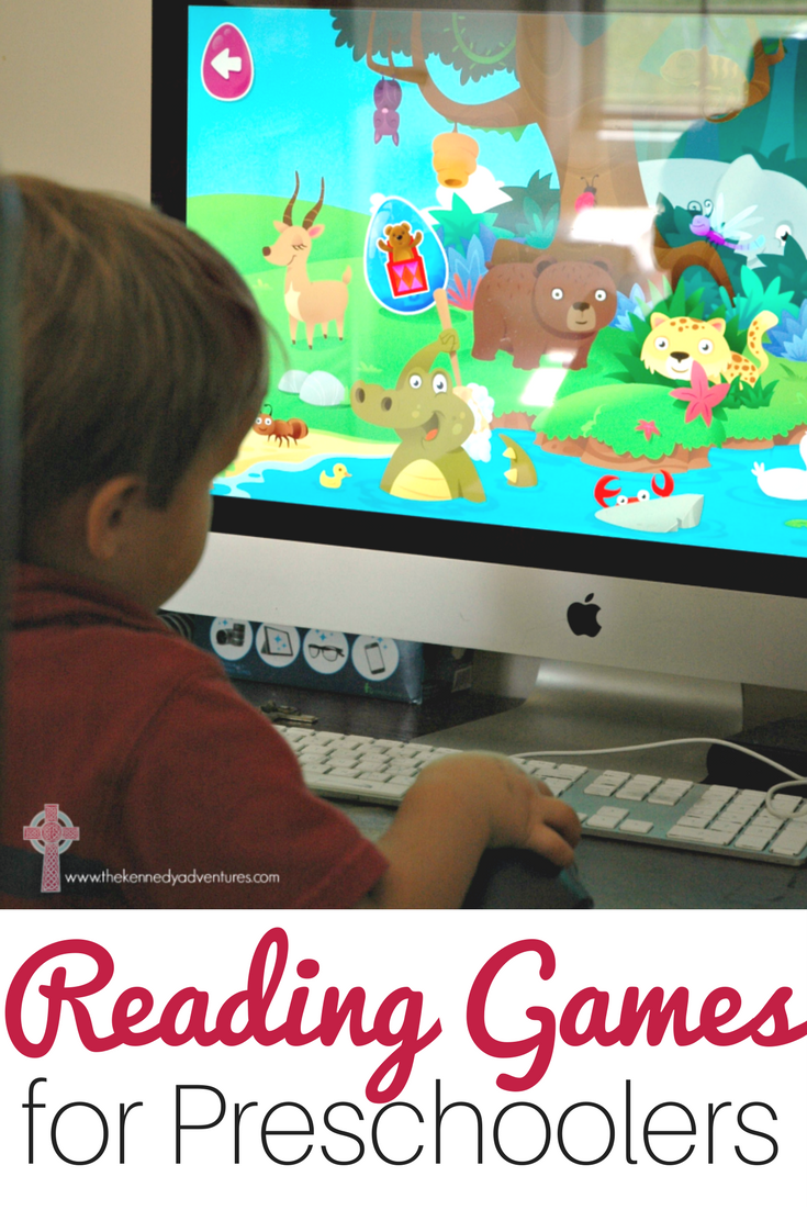 Amazing Online Reading Games for Preschoolers