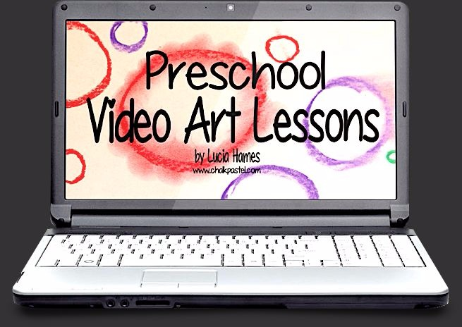 Need preschool art lessons for your classical Christian curriculum? We love these ideas from Chalk Pastels.