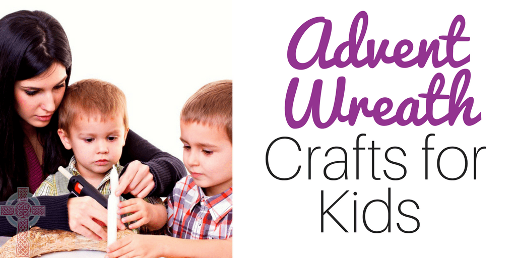 Looking for the perfect Advent wreath crafts for your kids? Don't miss these fun ideas!