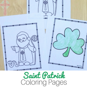 Saint Patrick Coloring Pages