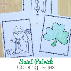 Saint Patrick Coloring Pages