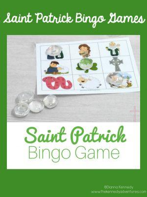 St Patrick Bingo