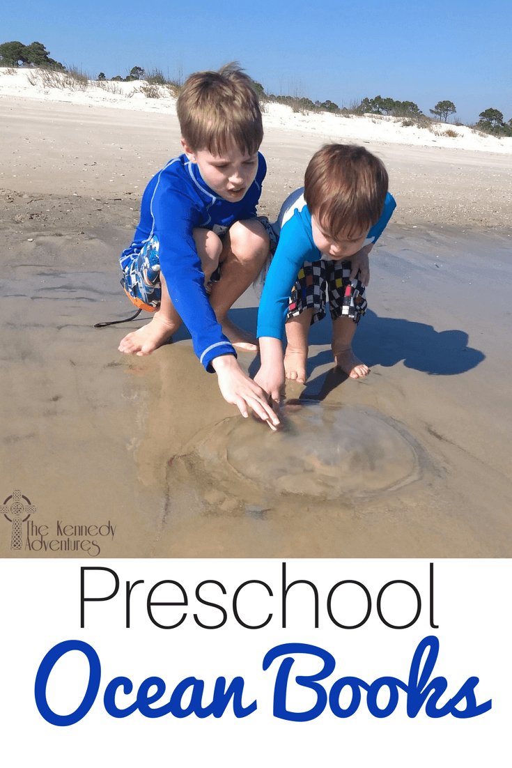 Take some time to explore some of these Beach Books for Toddlers before you go. We've loved them in our family with babies, toddlers and preschoolers. #oceanbooks #homeschool