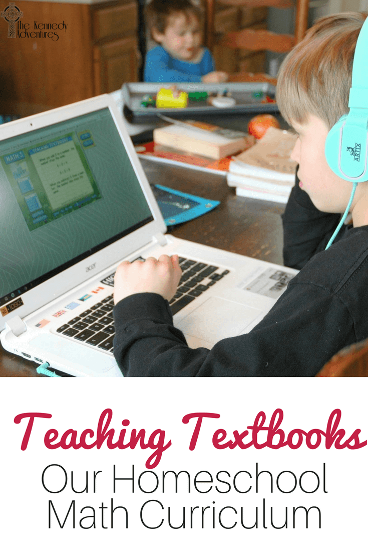 Teaching Textbooks homeschool math is our favorite program for large families!