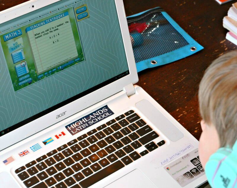 Looking for a homeschool math program that's online? Don't miss Teaching Textbooks.