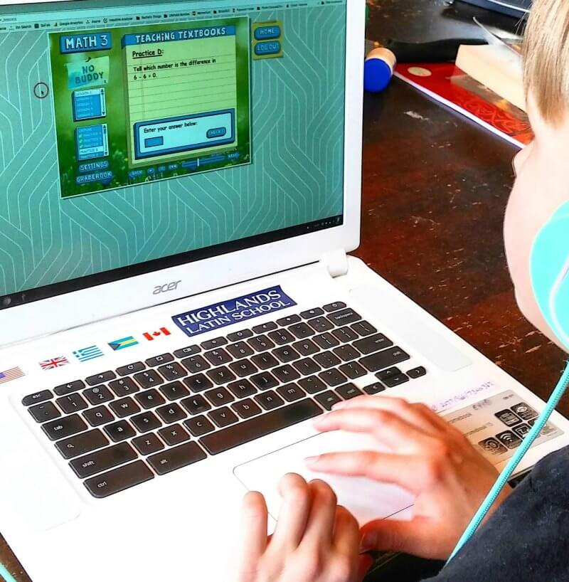 Taking Our Homeschool Math Curriculum Online with Teaching Textbooks