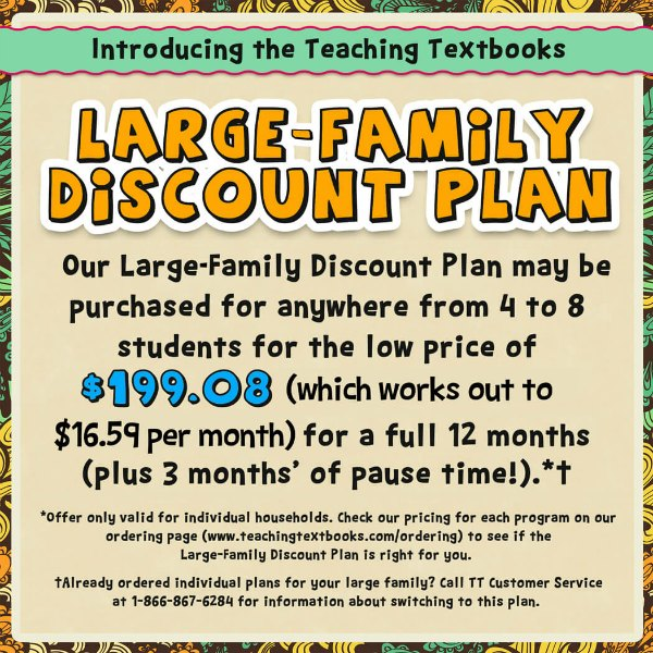 Looking for a Teaching Textbooks discount? We've got you covered.