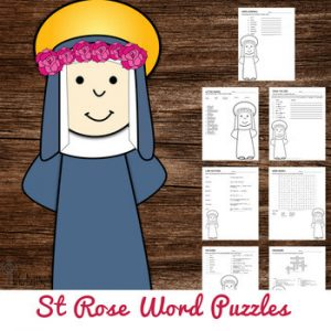 st rose of lima word puzzles