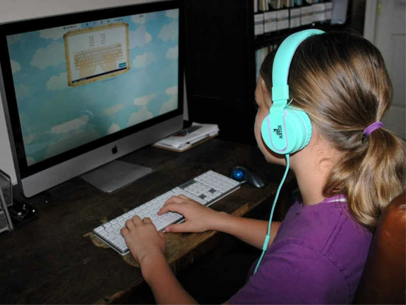 Want to incorporate typing lessons into your homeschool? We love these for our middle schooler!
