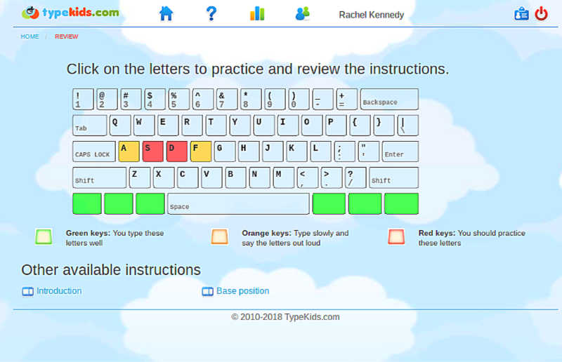 Teach your middle schooler how to type with these super fun typing games from TypeKids.