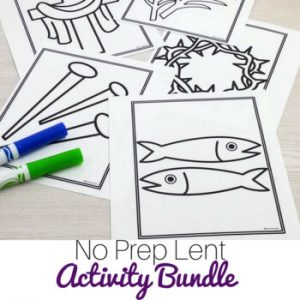 Lent Activities Bundle