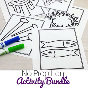 Lent Activities Bundle