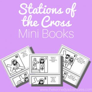 Stations of the Cross Mini Books
