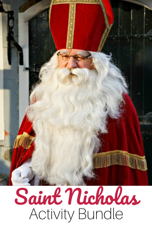 Saint Nicholas Activity Bundle
