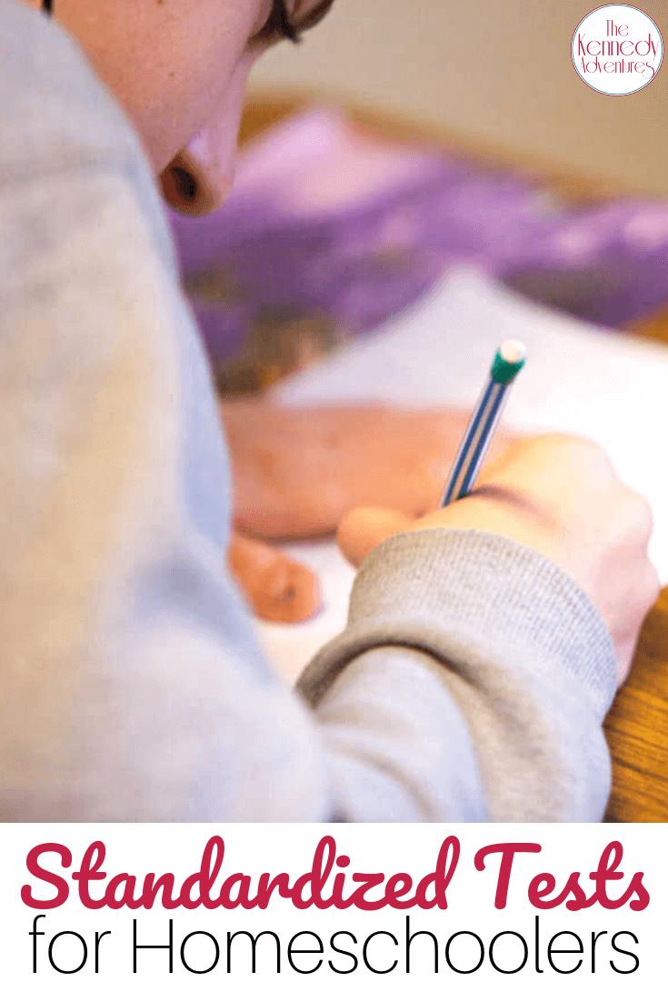 Standardized Testing for Homeschooling