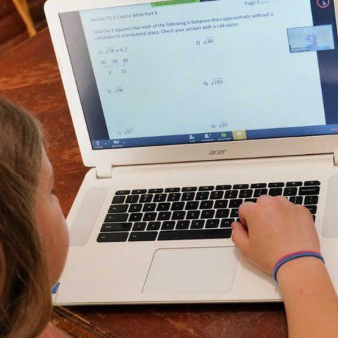 choosing an online pre-algebra course for your homeschooler