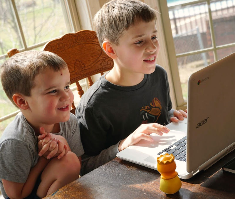 What a fun homeschool typing program!