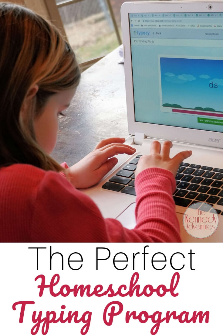 Have you seen this homeschool typing program? It's perfect for our family.