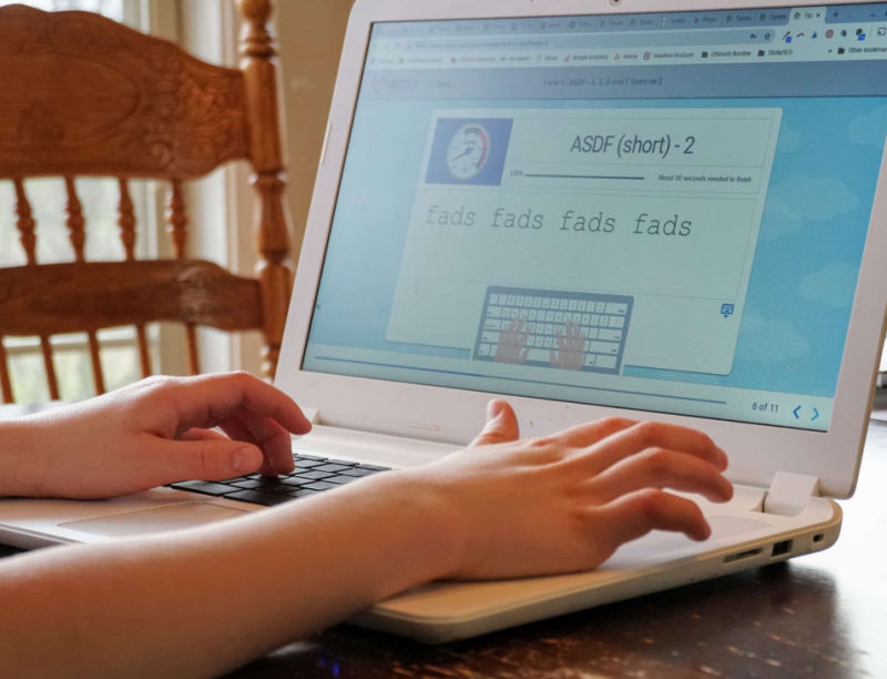 Need a comprehensive touch typing program for your homeschool?