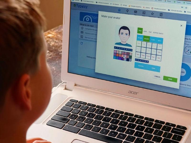 fun program for teaching typing in your homeschool