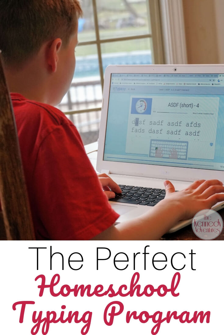 Our family LOVES this homeschool typing program from Typesy.