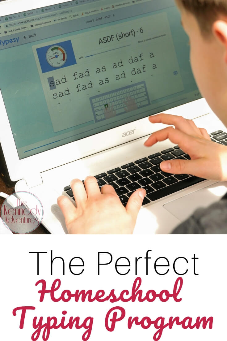 Need to teach your kids how to type correctly? This is the perfect homeschool typing program.