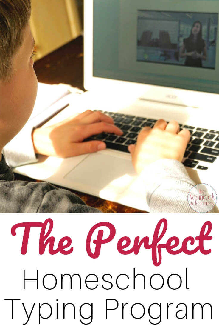 Typesy is the perfect homeschool typing program for our big family.