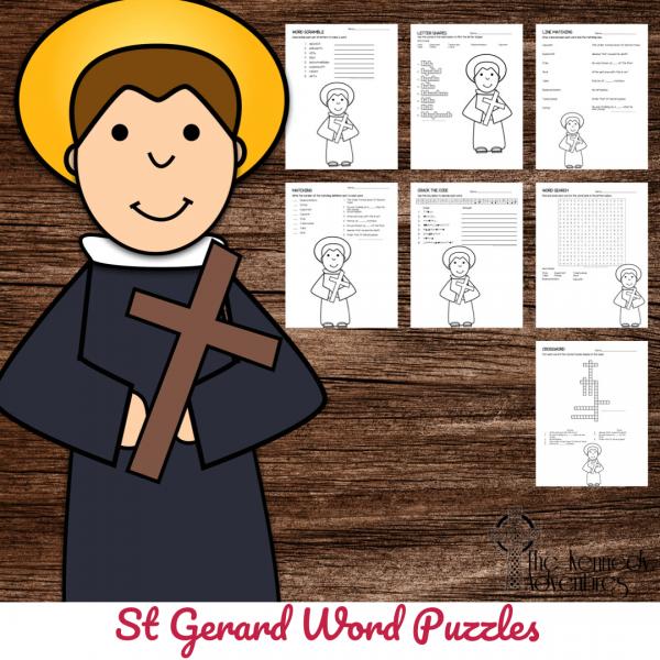 St Gerard Word Puzzle
