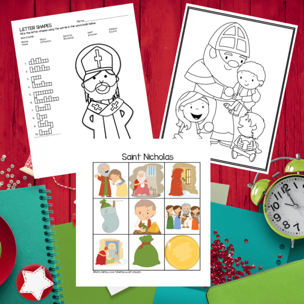 Saint Nicholas Activities for children