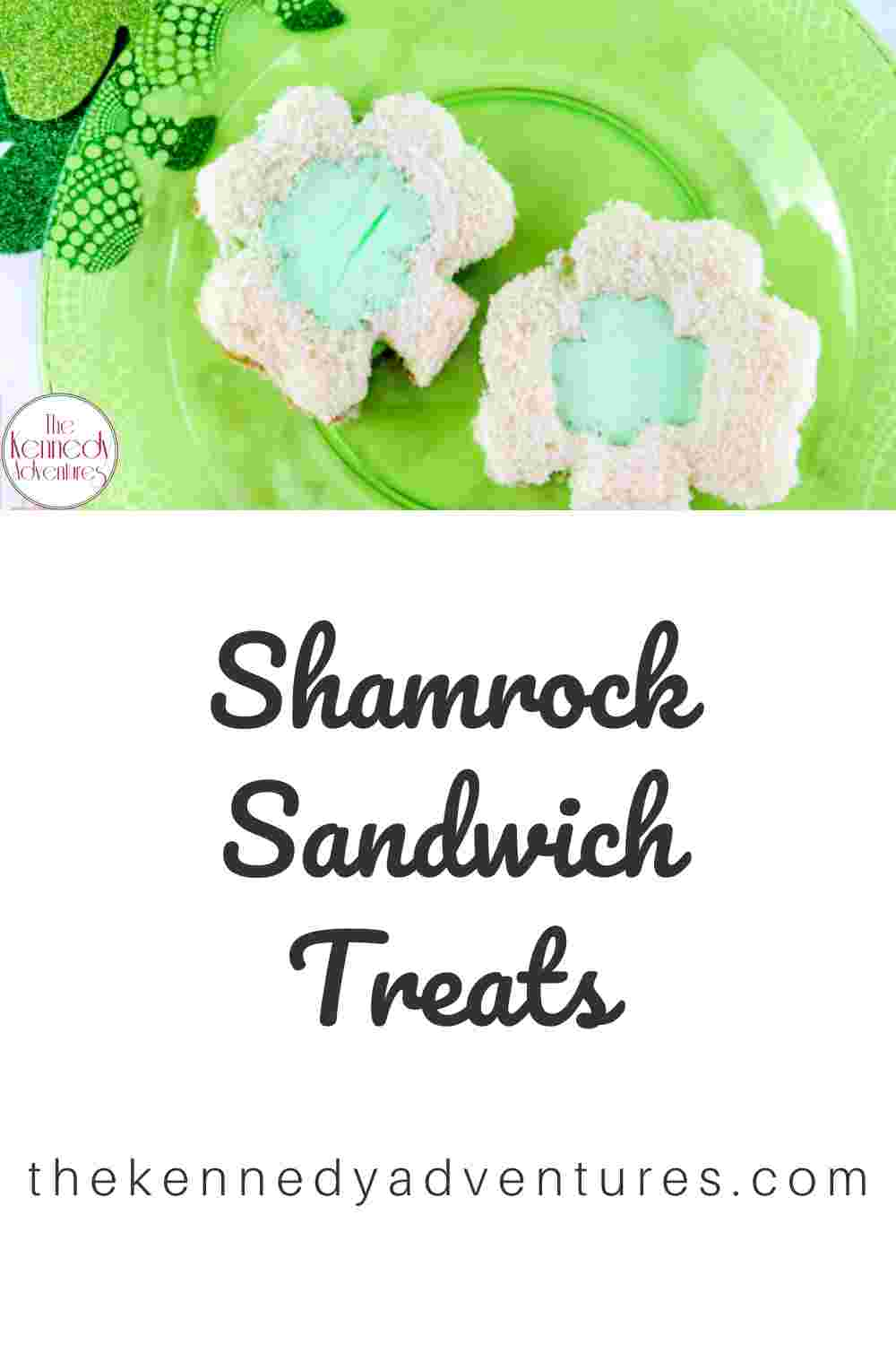 Shamrock Sandwiches for Saint Patrick's Day