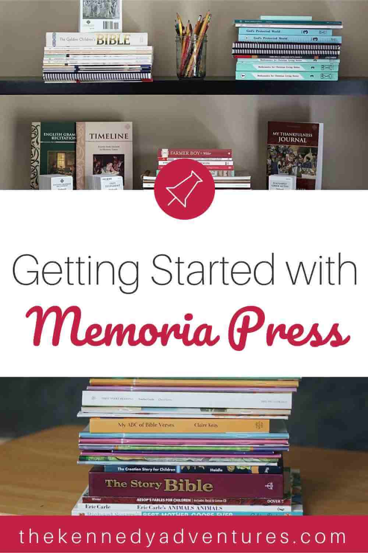 Memoria Press homeschool prep