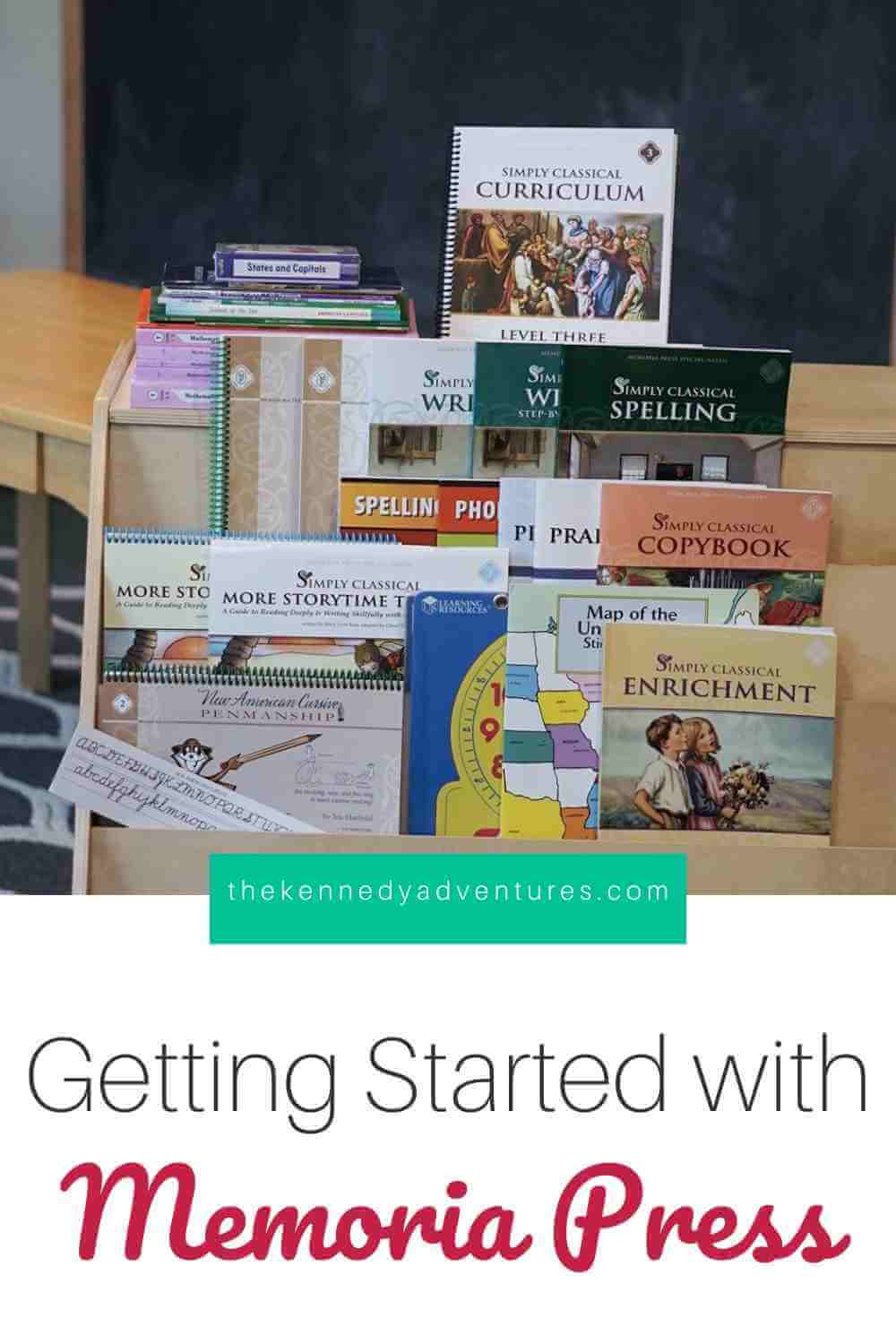 Getting Started with the Memoria Press Homeschool Curriculum