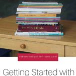 First year with Memoria Press Homeschool Curriculum