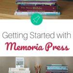 homeschool prep with Memoria Press