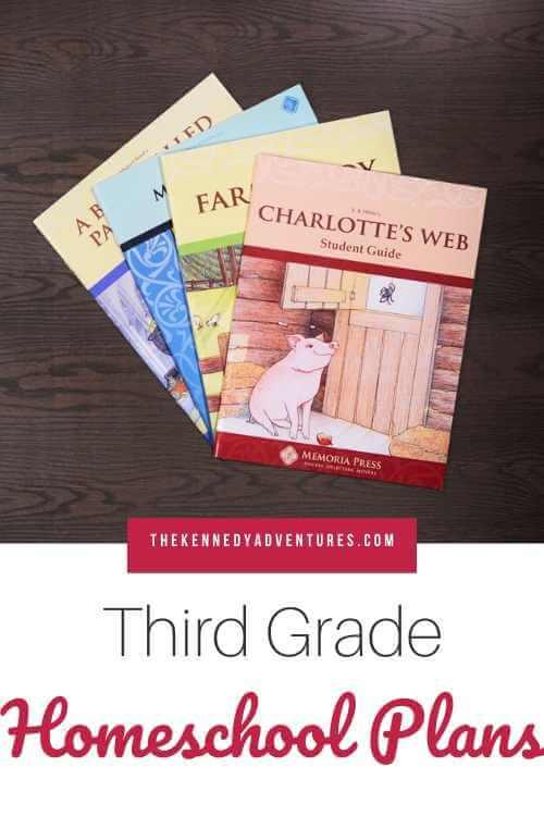 Memoria Press Homeschool Plans for Third Grade