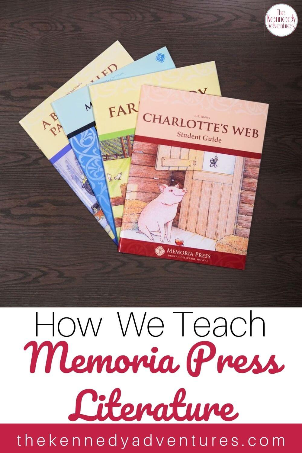 How to Teach Memoria Press Literature in your homeschool